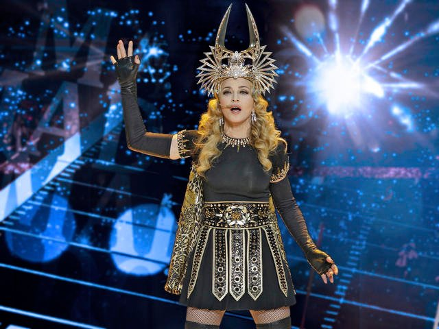 The Madonna 2012 World Tour will make a stop at the Sprint Center in downtown Kansas City, MO, on Oct. 30. (AP)