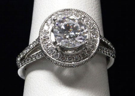 The .82 carat diamond that was mounted in a ring sold for $6,325.00 to an unknown buyer on eBay Tuesday.