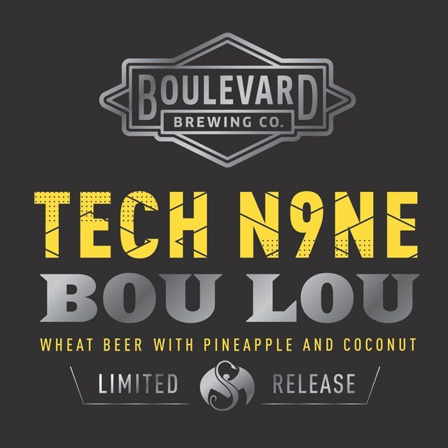 Inspired by one of Tech N9ne's best-loved tunes, Bou Lou is an enticing improvisation on Boulevard's Unfiltered Wheat Beer, bursting with flavors of pineapple and coconut, officials said. (Boulevard Brewing Company)