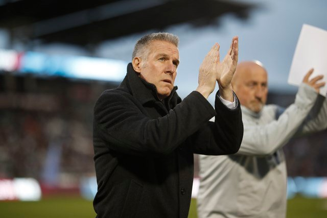 Currently the longest tenured manager in Major League Soccer, Vermes has led Sporting KC to a club-record seven straight appearances in the MLS Cup Playoffs. (AP)
