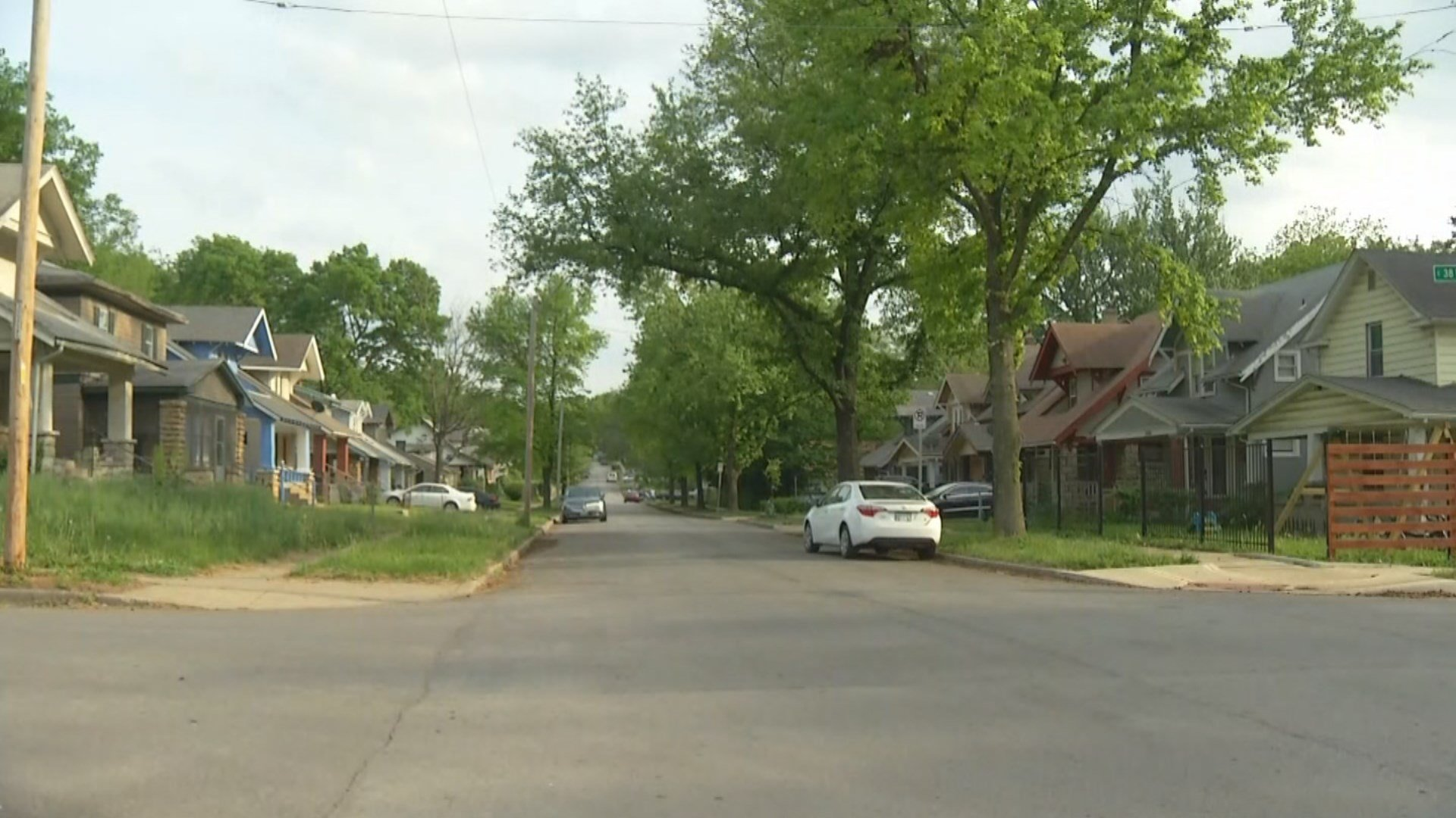 A child is in critical condition following an accidental shooting in Kansas City on Sunday.  (Dwain Crispwell/KCTV5)