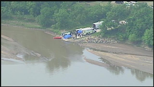 Crews reported out to a water rescue shortly before 5 p.m. Sunday at 33630 W. 79th Street after receiving a call for assistance at the Ottawa Boat Ramp. (Chopper5)