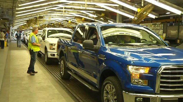 Employees of the Claycomo Ford Motor Company plant have been off work for two weeks. (File photo)