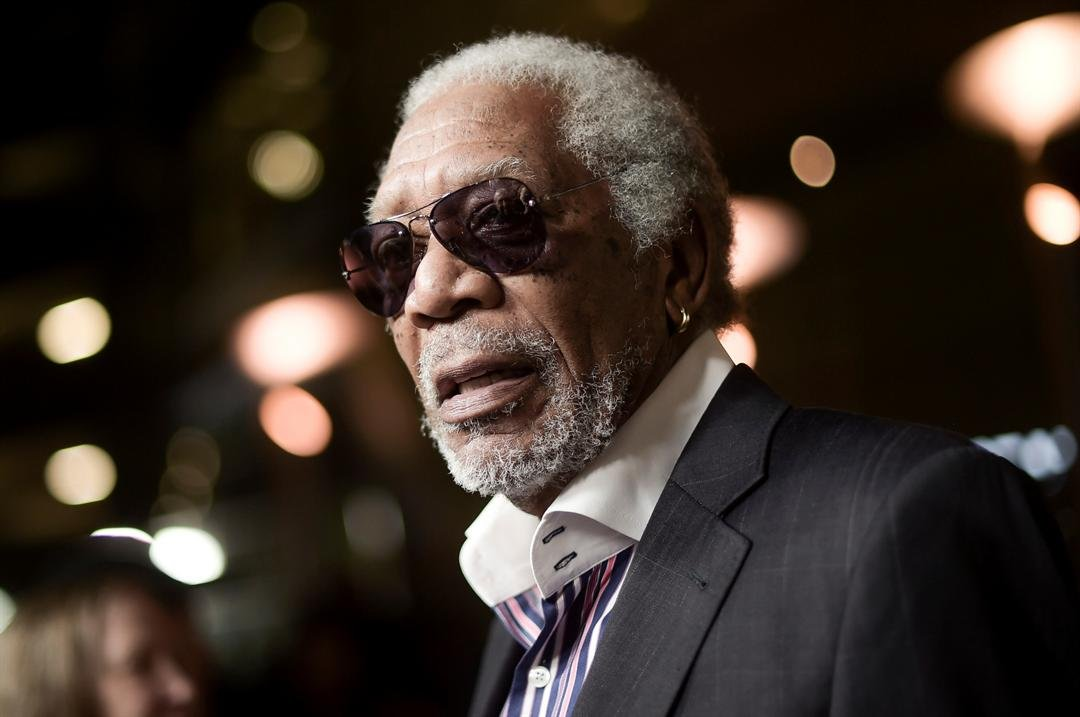 """Morgan Freeman attends the LA Premiere of """"Just Getting Started"""" at ArcLight Hollywood on Thursday, Dec. 7, 2017, in Los Angeles. (Photo by Richard Shotwell/Invision/AP)"""
