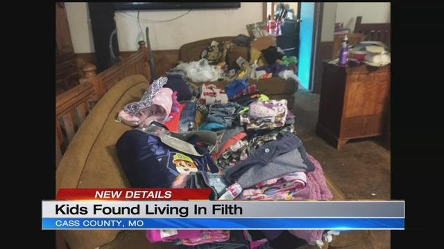 5 children living in filthy Missouri home are taken into protective custody