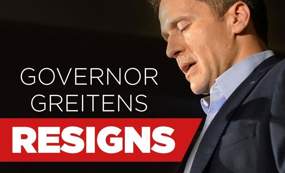 After just over a year on the job, Missouri Gov. Eric Greitens announced that he will resign the office.