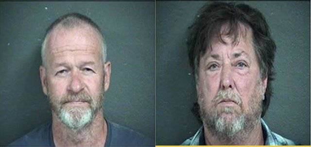John Zalsman and David Hughes have each been charged with one count of obstruction of law enforcement. (Wyandotte County)