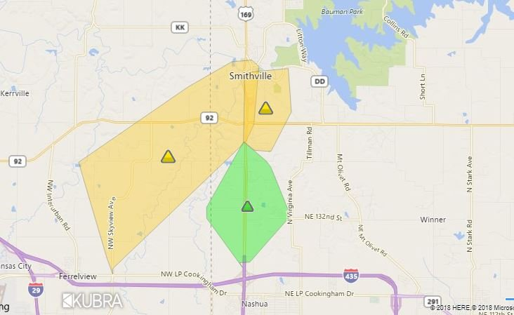 KCP&L outage map
