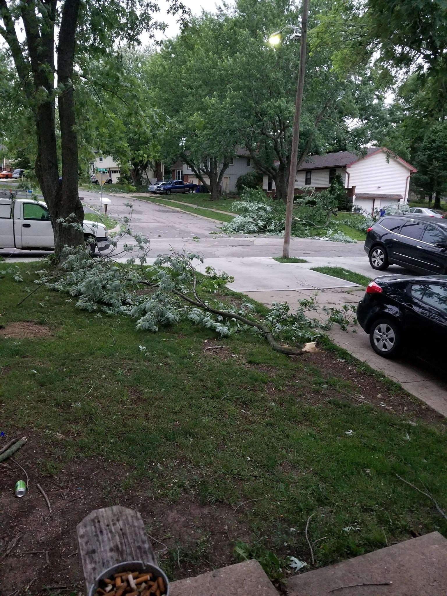 Taken in Olathe. (Submitted to KCTV)