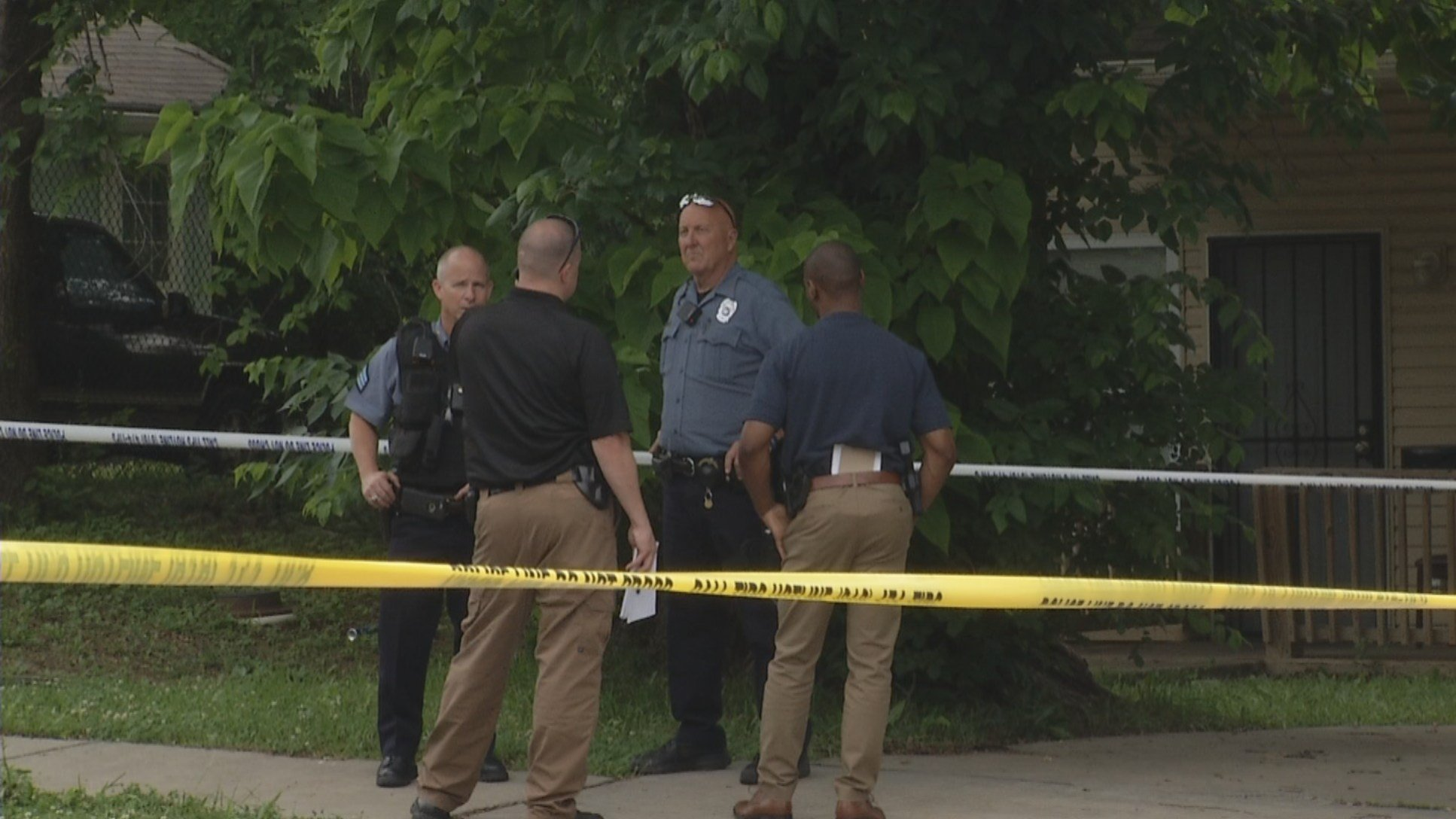 Officers were called about noon to the 4400 block ofSpruce Avenue on a shooting. (KCTV5)