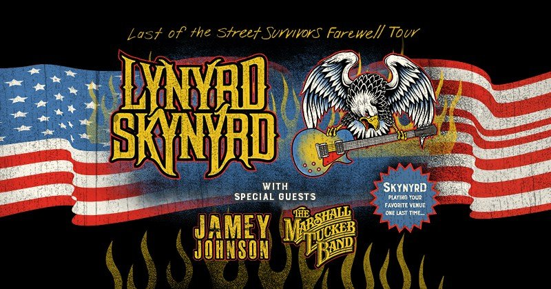 Lynyrd Skynyrd's final 'Last of the Street Survivors Farewell Tour' will stop in Kansas City this fall. (Live Nation)