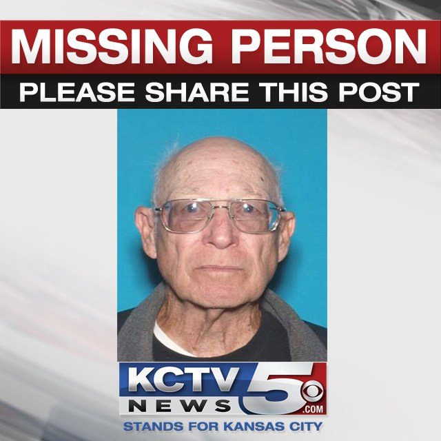 Dale Eagles was last seen at about 6:23 p.m. in the 3800 block of SW Ward Road, driving a silver 2011 Ford Taurus bearing Missouri license plate FE7D1W. (Lee's Summit PD)