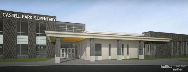 The new school will house over 500 students and has features that make it different from the other schools in the district. (Independence School District)