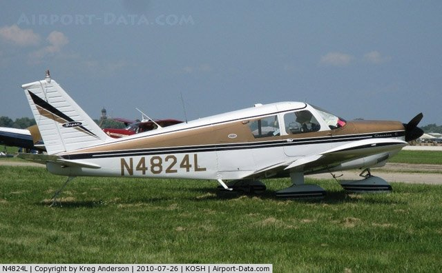 This photo is believed to be of the plane involved in Tuesday's crash. Courtesy: airport-data.com