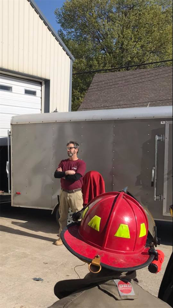 A trailer full of thousands of dollars' worth of specialty firefighting equipment was stolen from a home in the Northland. It was found within six hours with help from social media. (O'Byrne Fire Ground Training)