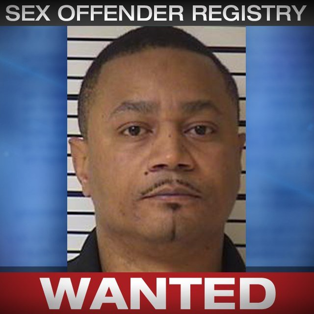 Kevin Easterwood is wanted on a Platte County warrant for sex offender registration violation. (CrimeStoppers)