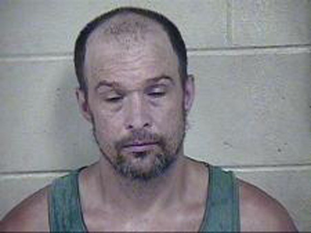 Timothy Greenfield is charged with second-degree arson. (Jackson County Jail)