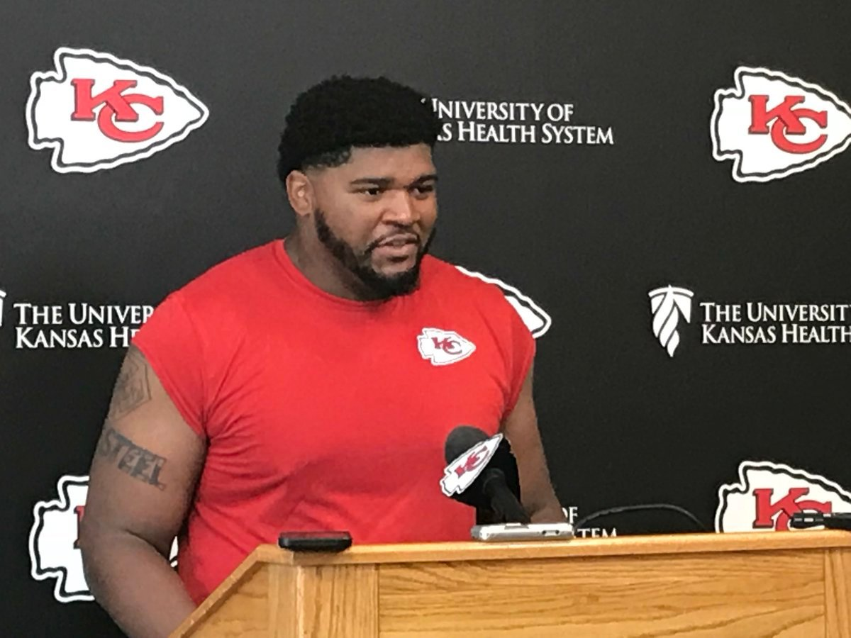 Defensive lineman Xavier Williams grew up a Kansas City Chiefs fan. (Dani Welniak/KCTV5)