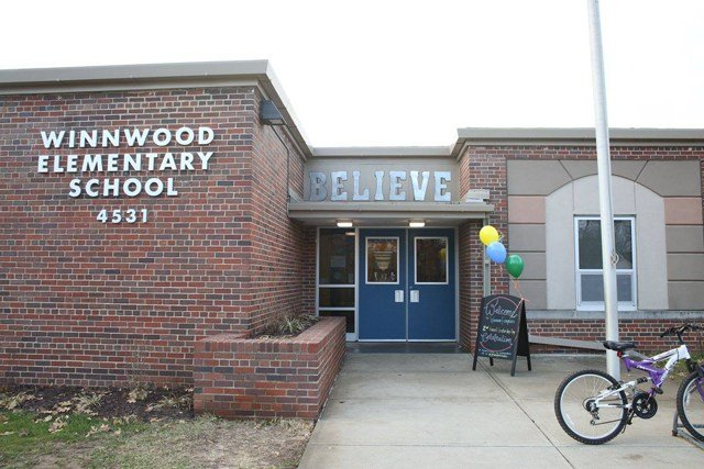 Officials say students are performing at an all-time high in both math and English. (Facebook/Winnwood Elementary School)