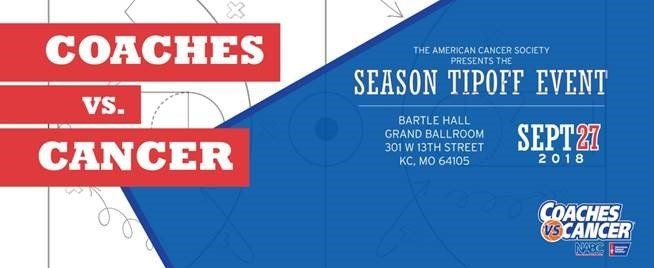 Join us at the American Cancer Society Coaches vs. Cancer Season Tip-Off Event on Thursday, Sept. 27, for a one-of-a-kind evening. (American Cancer Society)