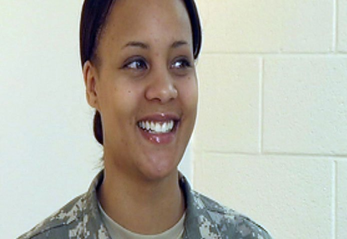 Sgt. Keana Johnson has been to Kosovo and has defended our freedom in Operation Enduring Freedom, but on Monday she will be on the tarmac at the Kansas City International Airport as Michelle Obama arrives in Kansas City for a fundraiser.