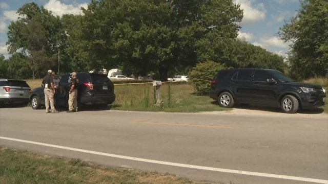 Authorities were called about noon Wednesday to a home near Missouri Highway 92 and Cameron Road just east of Kearney. (KCTV5)