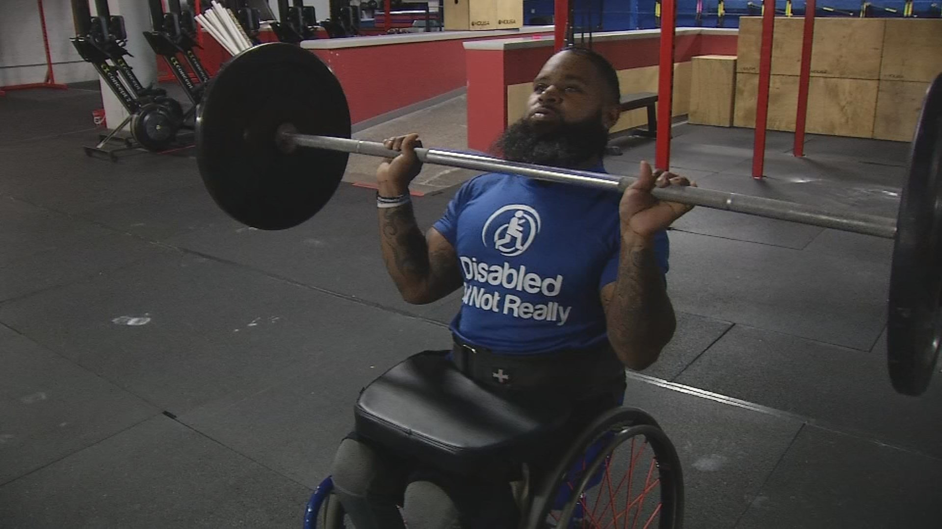 CrossFit is intense, grueling and pushes you to your limits.  For Wesley Hamilton, it's been life-changing. (KCTV5)