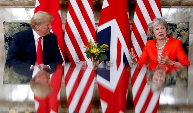 Trump to May: 'Sue the EU'