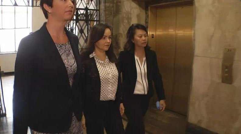 Thu Hong Nguyen is charged with arson, second-degree murder and causing a catastrophe in the October 2015 fire that killed 43-year-old Larry Leggio and 39-year-old John Mesh. (KCTV5)