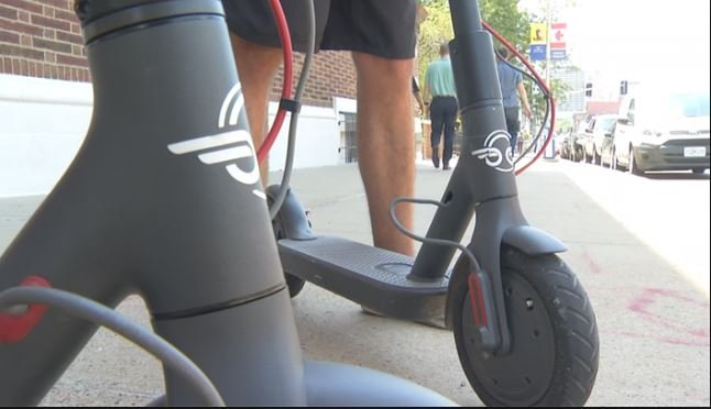 Bird electric scooters arrive in Cleveland