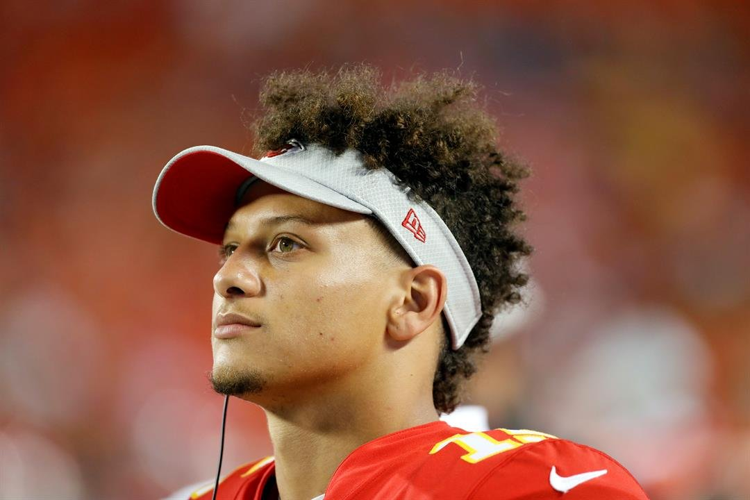Mahomes didn't complete a pass longer than 14 yards and never targeted Sammy Watkins, who signed a three-year, $48 million deal with the Chiefs in the offseason. (AP)