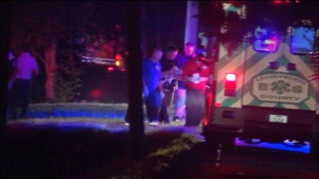 Leavenworth first responders cradle the baby