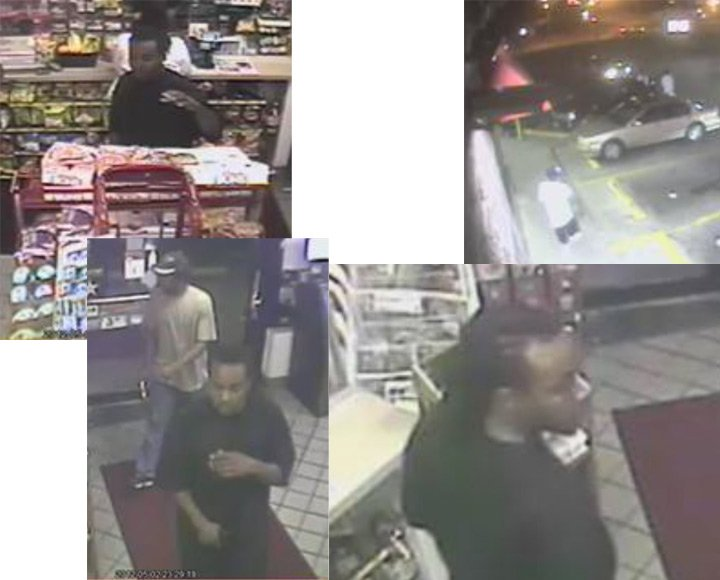 Surveillance photos from Snack Pack aggravated robbery