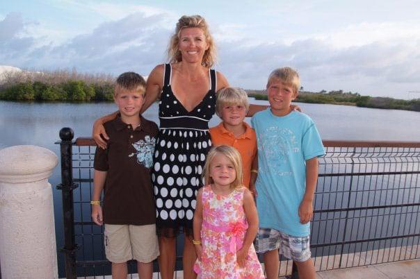 Becky Bramlage, four children