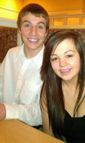 Logan Burris and Jenna Hord