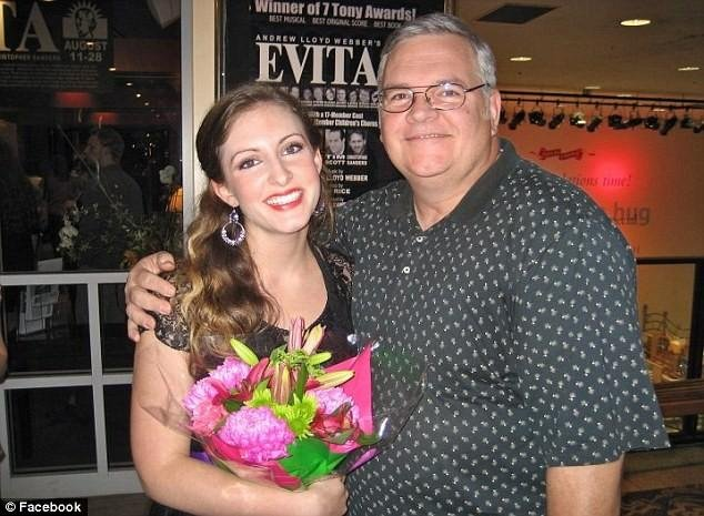 © Facebook/Aubrey Ireland and her father, David Ireland