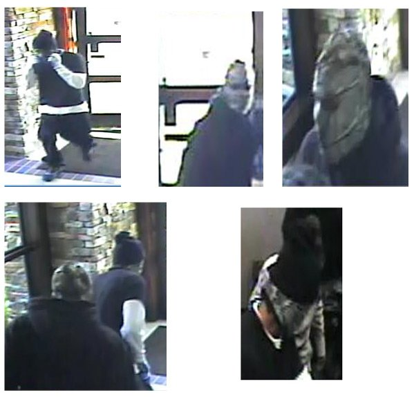 Surveillance photos from Mission Bank robbery