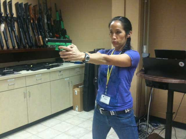 KCTV5 photographer Yumi Taylor participates in training exercise