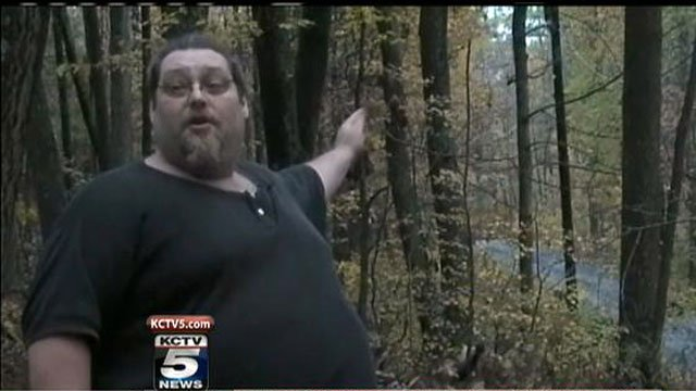 Bigfoot enthusiast John Reed said he was out camping with his girlfriend when a large animal passed by their camper.