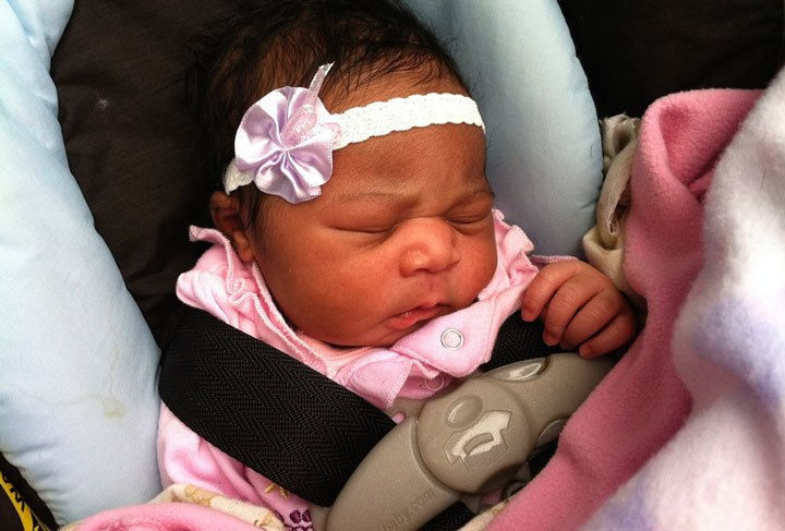 Marshayla Clark  was born Saturday at a Kansas City Walmart.