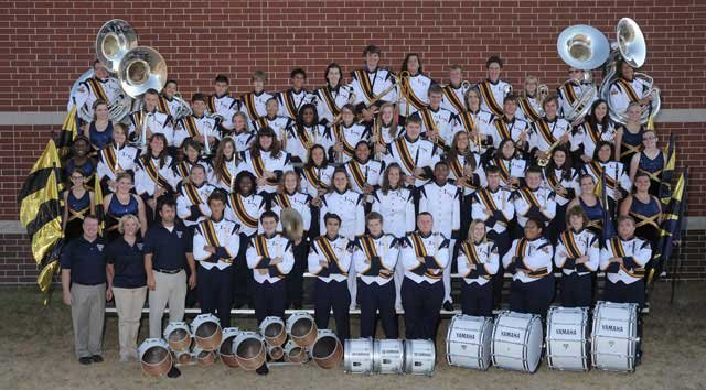 The Liberty North high school band was chosen from a pool of nearly 2,800 applicants.