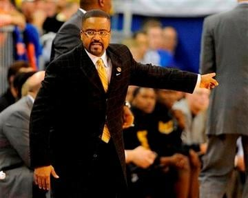 (AP Photo/Phil Sandlin). Missouri coach Frank Haith shouts instructions to his team during the second half of an NCAA college basketball game against Florida in Gainesville, Fla., Saturday, Jan. 19, 2013.