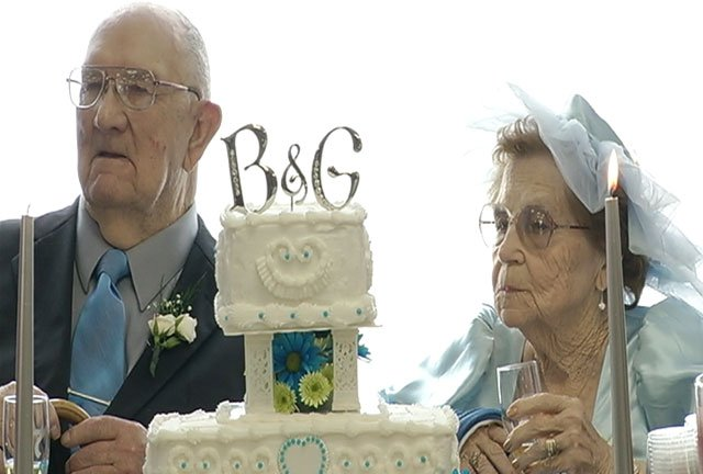 Billie and Gene Trageser say the story of how they met is a simple one that still brings a smile to their face 70 years later.