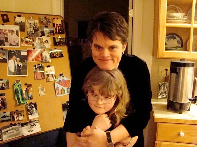 Photo courtesy family of Megan Cramer. Megan shown with her niece, August McGrail Jan. 24, 2009
