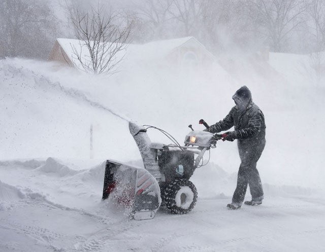The city requests that residents minimize travel during the weather event in order to allow snow removal crews and emergency responders greater ability to perform duties.   (Photo courtesy Chris Williams)
