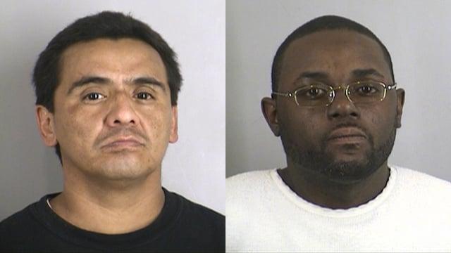 Lionel Hernandez, left, and Jeffrey Hulett
