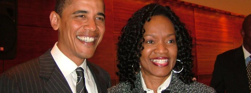 President Barack Obama, Gwen Grant