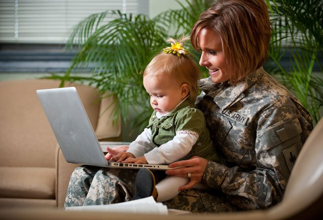 In response to the sequester cuts, Park University in Parkville is supporting the men and women fighting for their country by offering emergency military scholarships. (Photo courtesy: Park University)