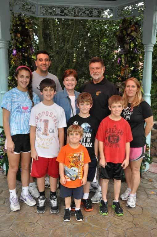 The Bresette family. Courtesy: Facebook