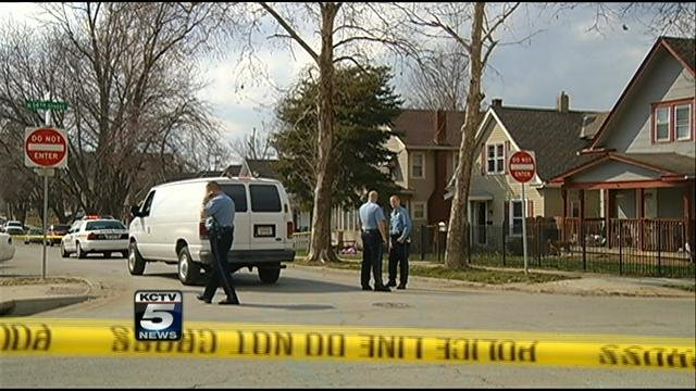 The shooting occurred just before 3 p.m. Saturday in the 1400 block of Ann Street.